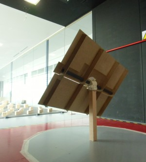 The Ariostato is continuing with the second phase of wind tunnel trials