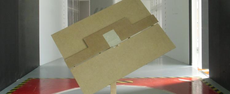 Les essais dans un tunnel de vent clôturent la première phase de l'Ariostato